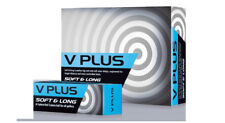 V Plus Soft and Long 2 Piece Distance and Feel Golf Balls 1 Dozen