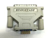 GE HE693XTADP Connector Adapter 90-30 9-Pin to 25-Pin PC to CPU PLC Logicmaster