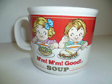 Vintage Campbell Ceramic Soup Cup 1991 M'm! M'm! Good! Blow by Westwood