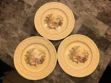 Pogossi China Luncheon Plates 9 Inches Set of 3 Beautiful Pope Gosser