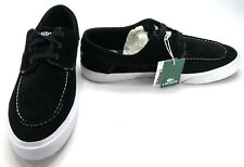 LaCoste Boat Shoes Navier 4 Suede Black/White Topsiders Size 13 EUR 47