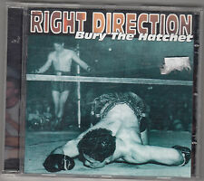 RIGHT DIRECTION - bury the hatchet CD