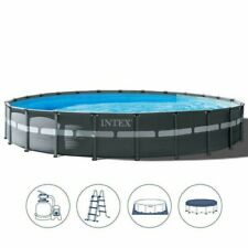 Intex 26330 piscina con telaio Ultra Frame XTR cm 549x132 con pompa filtro a sab