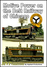 Motive Power on the Belt Railway of Chicago Midwest Video Productions DVD