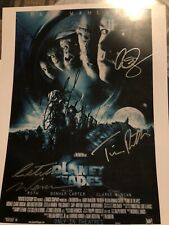 Planet Of The Apes Movie Cast 2001 - Autographed Signed Photograph