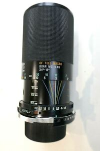 ROLLEI fitting 70-150mm TAMRON adaptall 2 zoom lens + case