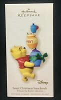 Hallmark Disney Ornament Winnie the Pooh SWEET CHRISTMAS SMACKERELS 2007 Holiday