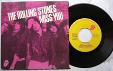 "45T ""7 Rolling Stones Miss You Faraway Eyes 78  BELGIUM"