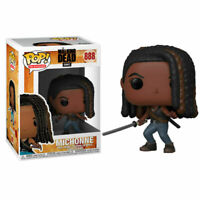 "THE WALKING DEAD MICHONNE 3.75"" POP VINYL FIGURE FUNKO 888 BRAND NEW"