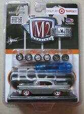 M2 RAW CHASE 1 of 168 Target Exclusive 1957 CHEVROLET BEL AIR TGS01 15-07