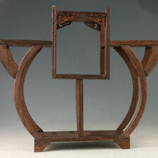 Exquisite Chinese Hardwood Handmade Collection Of Antiques Shelves Display Stand