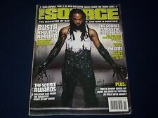 2001 NOVEMBER THE SOURCE MAGAZINE - BUSTA RHYMES COVER - HIP HOP - RAP - K 487