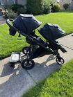 Baby+Jogger+City+Select+single+dual+stroller+glider+board+and+extras%21