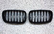 CARBON LOOK GRILL KÜHLERGRILL SATZ passend für BMW E70 X5 ab 2006 NIEREN-ERSATZ
