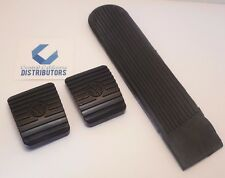 VW Pedal Pads Set of 3 Gas Brake Clutch Bug Bus Ghia T3 Pedal Covers