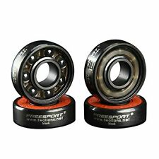 Twolions High Rev 608RS Hybrid BLACK Ceramic Bearings For Inline Skate Or Skateb