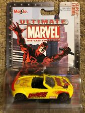 MAISTO ULTIMATE MARVEL DAREDEVIL BUICK BENGAL DIE CAST CAR SERIES 1 15 TOY