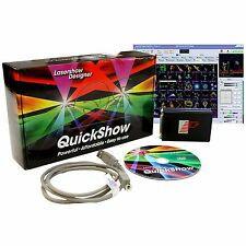 Pangolin Quickshow 3.0 FB3-QS Lasershow software + FREE 10 meter ILDA cable
