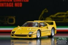 [TOMICA LIMITED VINTAGE NEO ORIGINAL 1/64] Ferrari F40 (Yellow)