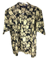Harbor Bay Men's 2XLT Cotton Hawaiian Shirt