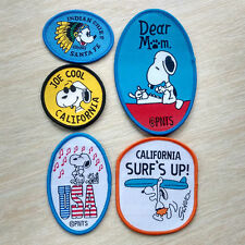Snoopy chief surf's up USA Music Sew On Patch Clothing Accessories