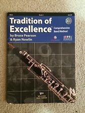 TRADITION OF EXCELLENCE BOOK 2 BAND METHOD OBOE W62OB
