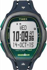Men's Timex Ironman Sleek 150 Full Blue Silicone Band Watch TW5M09800