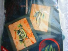 Rustic Farm Kitchen Decor Tole Painting Kit Beans & Peas Picture Food