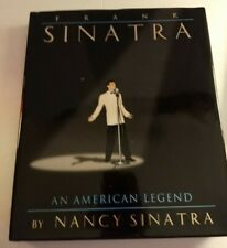 Frank Sinatra Book (An American Legend) with CD by Nancy hardcover