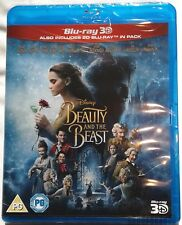 BEAUTY AND THE BEAST Brand New 3D (and 2D) BLU-RAY Movie 2017 Live-Action Disney