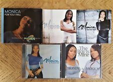 MONICA - 5 CD LOT: THE BOY IS MINE-THE 1ST NIGHT-ANGEL OF MINE-FOR YOU I WILL!