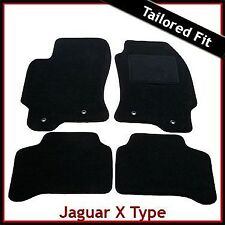 Jaguar X-Type 2.0 & 2.2 Litre 2001-2009 Tailored Carpet Car Floor Mats BLACK