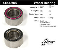 Wheel Bearing-Premium Bearings Front,Rear Centric 412.45007