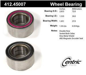 Wheel Bearing-Premium Bearings Front,Rear Centric 412.45007