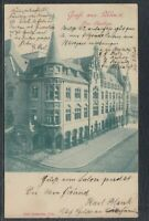 43985) AK Gruß aus Ulm Der Saalbau 1900