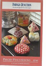 PIECED PINCUSHIONS IJ748 INDYGO JUNCTION PATTERN NEW