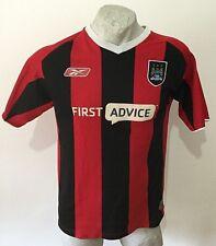 Maglia calcio reebok football shirt manchester city trikot jersey vintage 2003