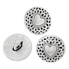 25 MM Metal Eyelet Button Polyester Streak Material Pack Of 10 40 Ligne