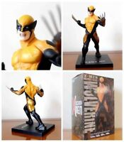 X-Men Logan Wolverine Yellow Version PVC Action Figures Collectible Model Toy