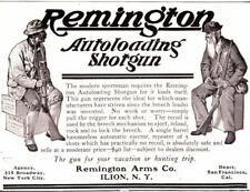 Vintage ad 1906 Remington Autoloading Shotguns Cool ad Man Cave Art