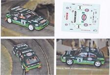 Decals 1/43e Lancia Delta HF Esso SMP S.Pianezzola Corte Ingles 1994