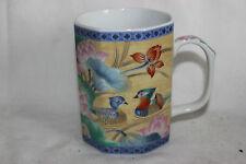 Mug Cup Tasse Japanese Style Flowers Ducks