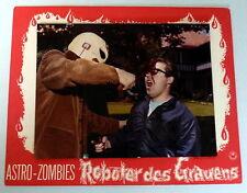 ASTRO-ZOMBIES, Roboter des Grauens * EA-Aushangfoto  - German LC USA 1968 HORROR