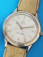 1964 OMEGA Seamaster Cal 550 AUTOMATIC MENS WATCH 14K GOLD Filled REF L6298