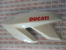 Carena fiancata sinistra fairing left Ducati Hypermotard 1100 bianca