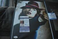 Hayley Atwell SIGNED 11x14 Photo COA JSA Agent Carter Marvel black mirror dvd