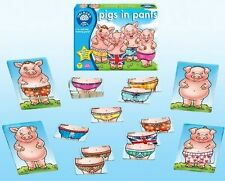 Orchard Toys 022 Pigs in Pants Kids Childrens Toddler Fun Learning Game 4 Yrs