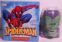 2006 Marvel Spider Man Villain Green Goblin 16 oz 3D Mug Ceramic from Applause
