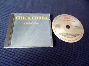 CD Chick Corea - Children's Song ECM Records | early press West-Germany 198?
