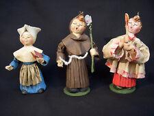 ⭐️ Vintage Italian PAPER MACHE Christmas Tree Ornament CARTAPESTA Choir Italy ⭐️
